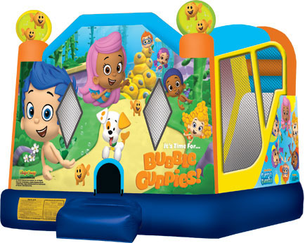 Extra Large Bubble Guppies 4 in 1 Combo Wet/Dry Slide  sc 1 st  Party On! Rentals & Extra Large Bubble Guppies 4 in 1 Combo Wet/Dry Slide|Combos ...