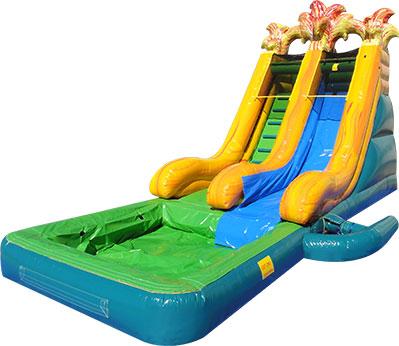 Volcano N' Fire Slide w/Pool (wet only)