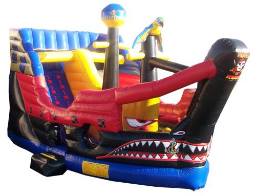 Pirate Ship Slide Wet/Dry