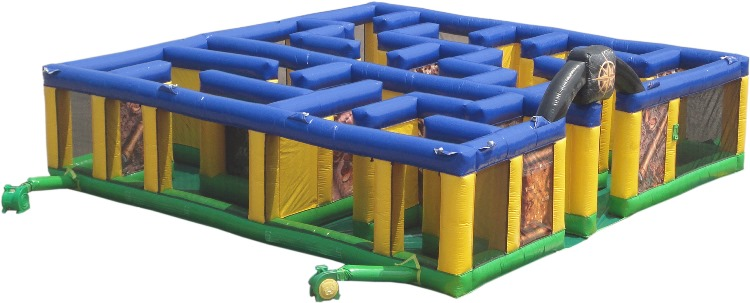Treasure Maze Obstacle Course