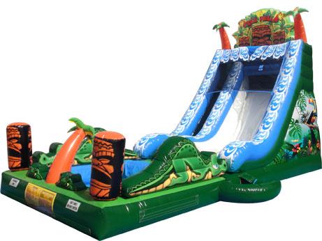 Tiki Falls Slide w/Pool