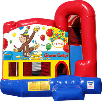 Backyard-Module 4 in 1 Combo with Curious George Banner