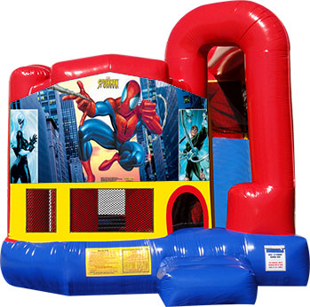 Backyard-Module 4 in 1 Combo with Spiderman Banner