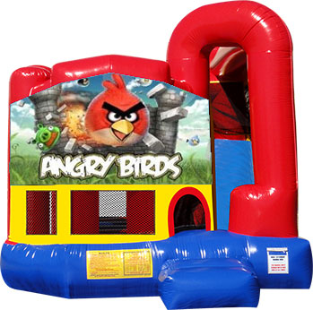 Backyard-Module 4 in 1 Combo with Angry Birds Banner