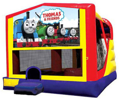 Extra Large Module 4 in 1 Combo Wet/Dry Slide With Thomas & Friends Banner