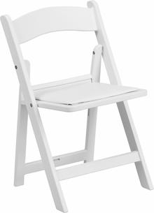 Kids Fancy Chair- White