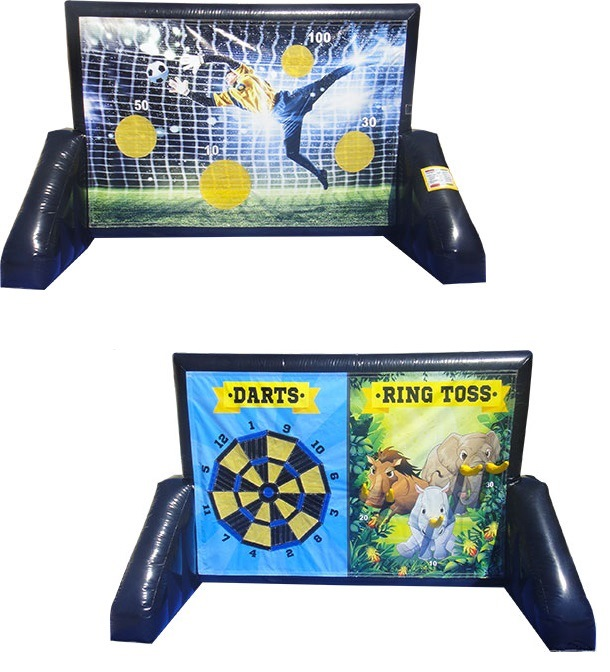 3 in 1 Game Soccer, Darts, Ring Toss