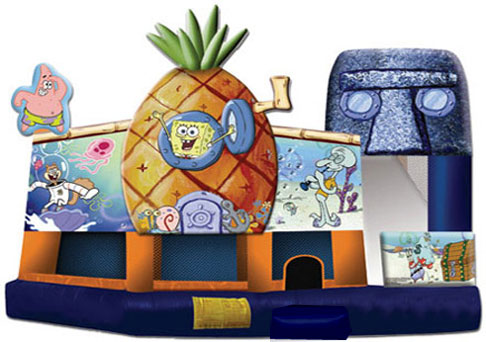 Sponge Bob Pineapple 5 in 1 Combo