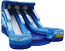Double Splash Water Slide w/ 2 pools
