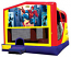 Extra Large Module 4 in 1 Combo Wet/Dry Slide With Spiderman Banner