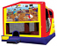 Extra Large Module 4 in 1 combo Wet/Dry Slide With Pirates Banner