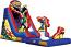 Justice League Water Slide w/Pool