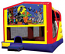 Extra Large Module 4 in 1 combo Wet/Dry Slide With Halloween Banner