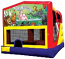Extra Large Module 4 in 1 combo Wet/Dry Slide With Birthday (Animals) Banner