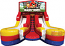 Module Junior Double Lane Water Slide Wet/Dry - w/Angry Birds Banner