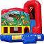 Backyard-Module 4 IN 1 Combo with Noah's Ark Banner