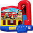 Backyard-Module 4 in 1 Combo with Fireman On a Mission Banner