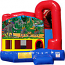 Backyard-Module 4 in 1 Combo with Jungle Fun Banner