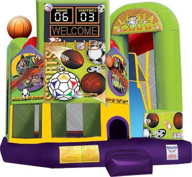 Backyard-Sports 4 in 1 Combo