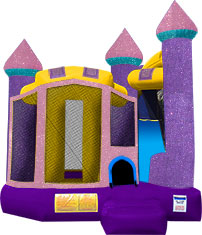 Backyard-Glitz & Glam Castle 4 in 1 Combo