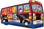 Fire Truck 3 in 1 Combo Wet/Dry Slide
