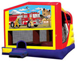 Extra Large Module 4 in 1 combo Wet/Dry With Firemen On A Mission Banner