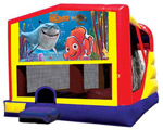 Extra Large Module 4 in 1 Combo Wet/Dry Slide With Finding Nemo Banner